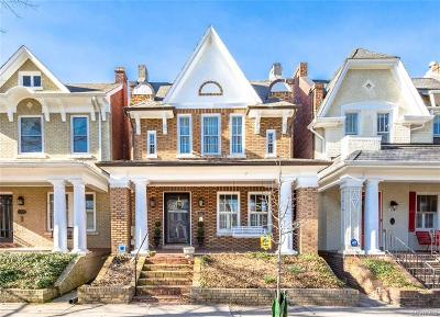 Richmond Single Family Home For Sale: 3217 Monument Avenue