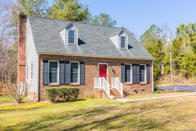 Hanover County Single Family Home For Sale: 7395 Burnett Field Drive