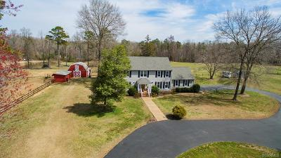 Hanover County Single Family Home For Sale: 15058 Melody Hills Drive