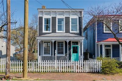 Richmond Single Family Home For Sale: 815 N 27th Street
