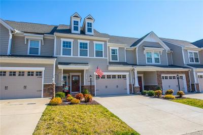 Hanover County Condo/Townhouse For Sale: 8137 Marley Drive