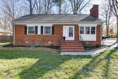 Richmond Single Family Home For Sale: 1513 Whitlone Drive