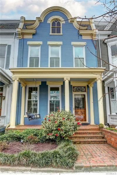Richmond Single Family Home For Sale: 2405 Hanover Avenue