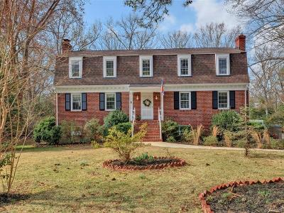 Henrico Single Family Home For Sale: 9505 Lyndonway Drive
