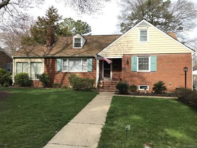Henrico County Single Family Home For Sale: 910 Bevridge Road