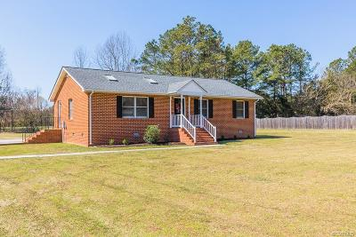 Hanover County Single Family Home For Sale: 7365 Colts Neck Road