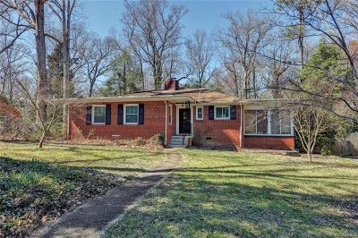 Richmond Single Family Home For Sale: 4050 Wakefield Road