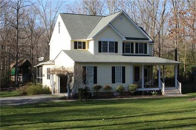 Hanover County Single Family Home For Sale: 8317 Elizabeth Ann Drive