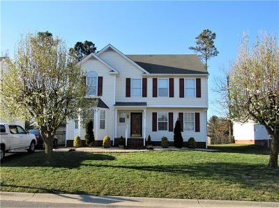 Henrico Single Family Home For Sale: 3920 Trickling Brook Drive