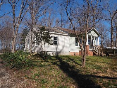 Richmond Single Family Home For Sale: 3830 Collier Hill Road
