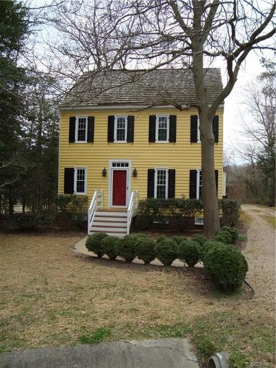 Chesterfield Single Family Home For Sale: 9601 Cole Mill Road