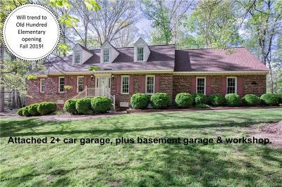 Midlothian Single Family Home For Sale: 2130 Swamp Fox Road
