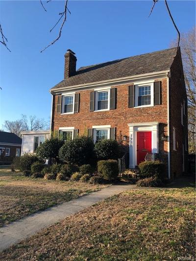 Richmond Single Family Home For Sale: 3915 Patterson Avenue