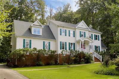 Midlothian Single Family Home For Sale: 3501 Robious Forest Way