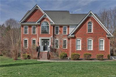 Chesterfield County Single Family Home For Sale: 5736 Trail Ride Drive
