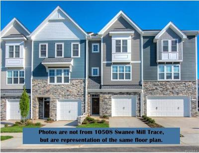Henrico County Condo/Townhouse For Sale: 10508 Swanee Mill Trace #J-2