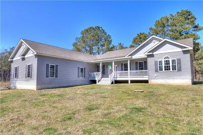 Heathsville Single Family Home For Sale: 437 Knights Landing Drive
