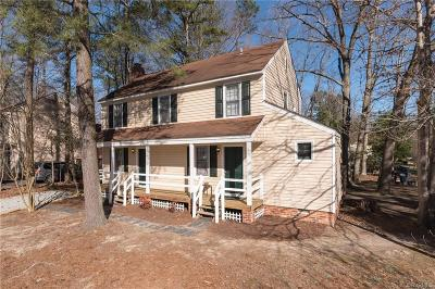 Chesterfield VA Single Family Home For Sale: $199,000
