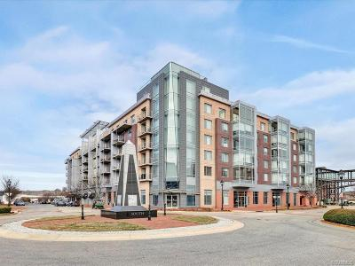 Henrico County Condo/Townhouse For Sale: 210 Rocketts Way #404