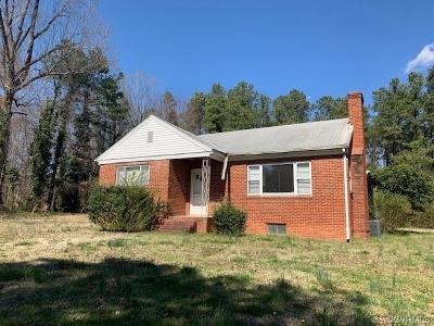 Henrico Single Family Home For Sale: 8300 Sunday Drive