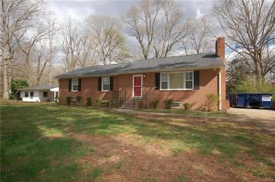 Chester Single Family Home For Sale: 3947 Tanbark Road