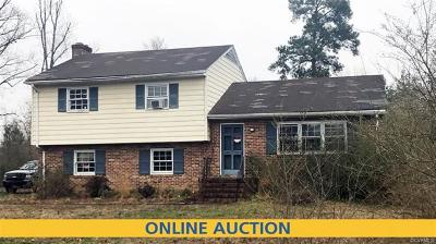 Midlothian Single Family Home For Sale: 807 Old Hundred Road