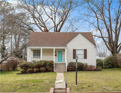 Richmond Single Family Home For Sale: 1326 Devers Road