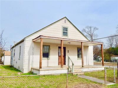 Petersburg Single Family Home For Sale: 75 Culpepper Avenue