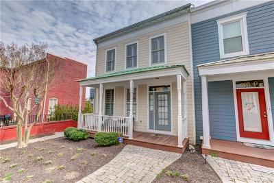 Richmond Condo/Townhouse For Sale: 605 Spring Street #F