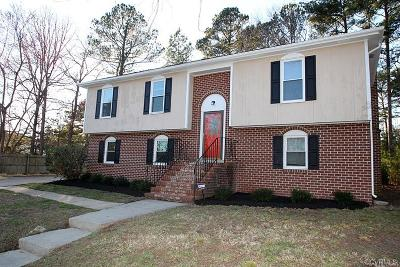 Chesterfield County Single Family Home For Sale: 4208 Brickhouse Court
