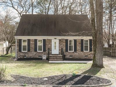 South Chesterfield Single Family Home For Sale: 21115 Matoaca Road