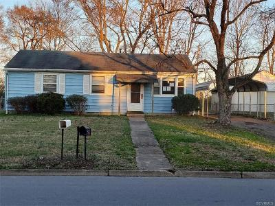 Richmond Single Family Home For Sale: 2003 Beck Drive