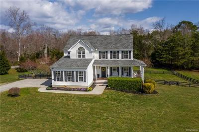 Goochland County Single Family Home For Sale: 4640 Old Fredericksburg Road