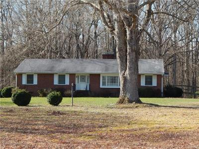 Hanover County Single Family Home For Sale: 16781 Mountain Road