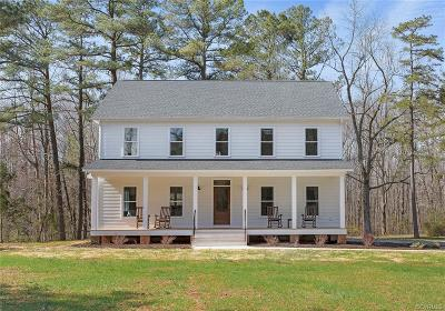 Powhatan County Single Family Home For Sale: 2135 Urbine Road