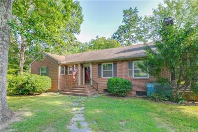Amelia County Single Family Home For Sale: 15901 Dunn Street