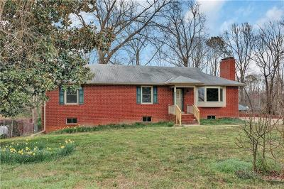 Chesterfield County Single Family Home For Sale: 1125 Francill Drive