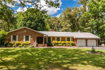 Hanover County Single Family Home For Sale: 7429 Walnut Grove Road