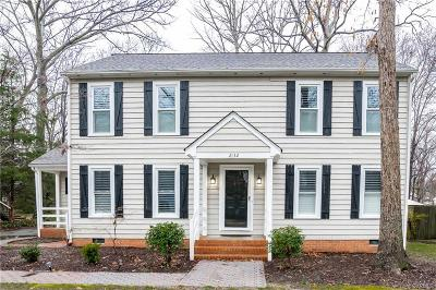 Chesterfield County Rental For Rent: 2132 Esquire Road