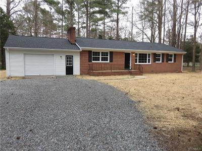 Henrico County Single Family Home For Sale: 8671 Osborne Turnpike