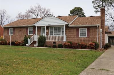 Henrico County Single Family Home For Sale: 3306 Merkner Drive