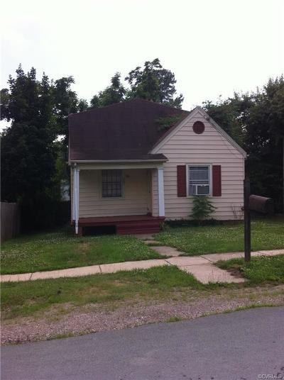 Henrico County Single Family Home For Sale: 1407 Young Street