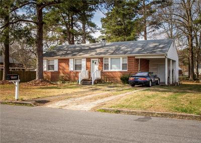 Henrico County Single Family Home For Sale: 4706 Mulford Road