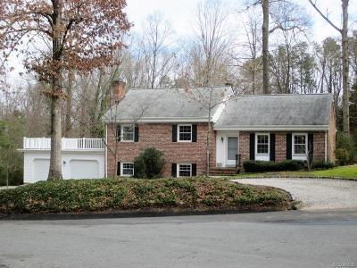 Henrico County Single Family Home For Sale: 805 Keats Road