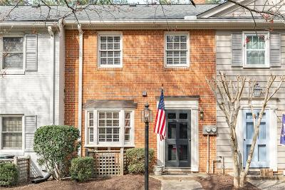 Henrico County Condo/Townhouse For Sale: 9101 Derbyshire Road #E