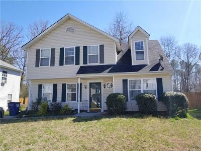 Chesterfield County Single Family Home For Sale: 16731 Amherst Oak Lane