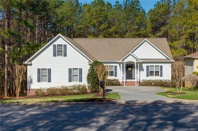New Kent County Single Family Home For Sale: 11820 Pine Needles Drive