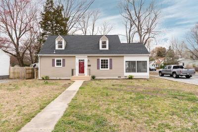 Henrico County Single Family Home For Sale: 6708 Hermitage Road