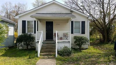 Hopewell Single Family Home For Sale: 2304 Courthouse Road