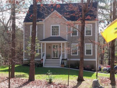 Powhatan County Single Family Home For Sale: 2440 Old Time Road